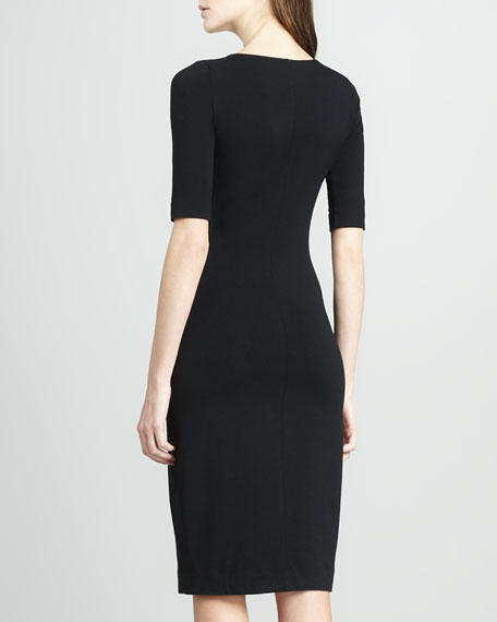 Messon Half-Sleeve Dress