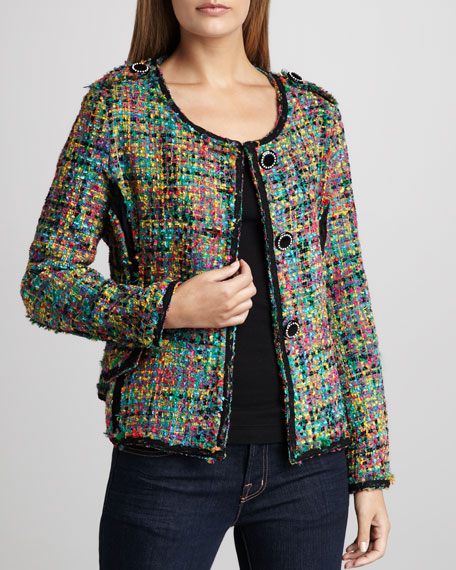 Colorful Crayons Boucle Jacket