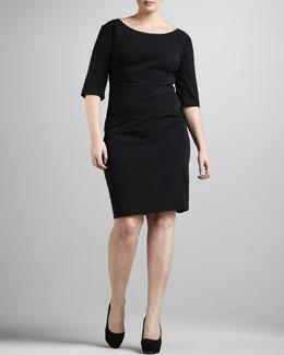 JilRo Gathered Sheath Dress, Women's