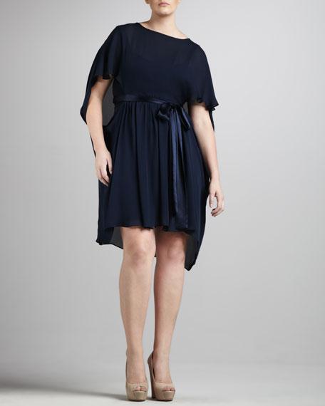 Grecian Tie-Waist Dress, Women's