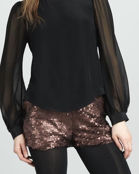 Kiara Sequined Shorts