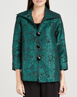 Caroline Rose Pebble Jacquard Jacket