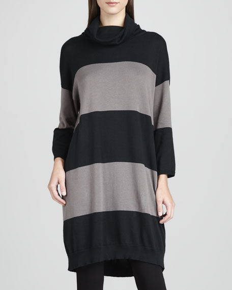 Long Bold-Striped Tunic