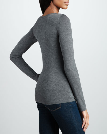 V-Neck Soft Touch Top