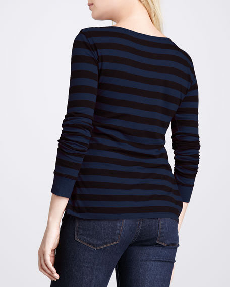 Striped Soft Touch Top