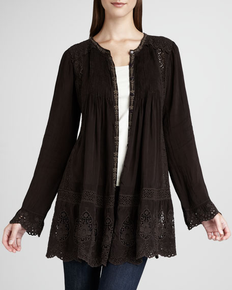 Dominica Lace Tunic