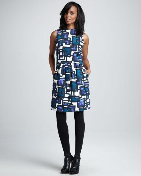Astrid Printed Dress