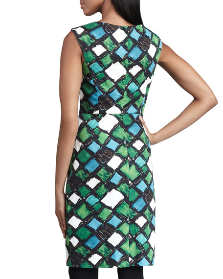 Peggy Printed Dress