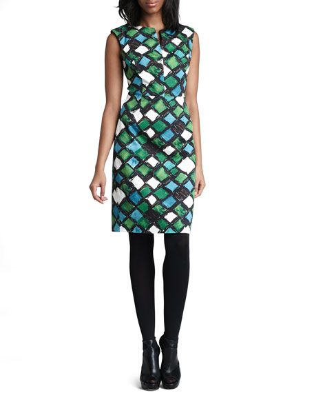 Peggy Printed Dress