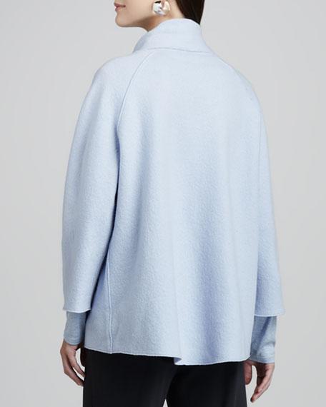 Boiled-Wool Coat