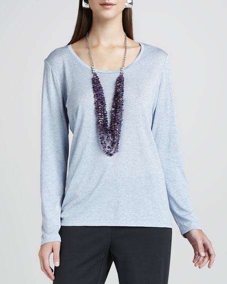 Long-Sleeve Jersey Tee, Women's