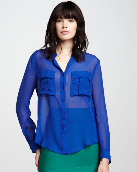 Anderson Sheer Blouse