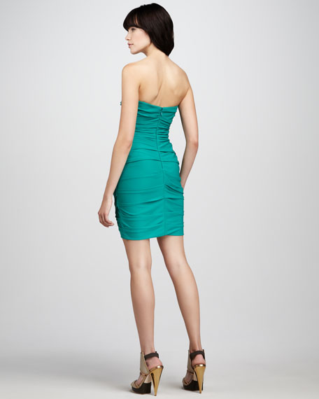 Madge Strapless Cocktail Dress