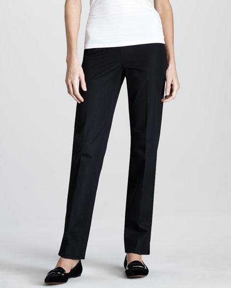 Side-Zip Ankle Pants