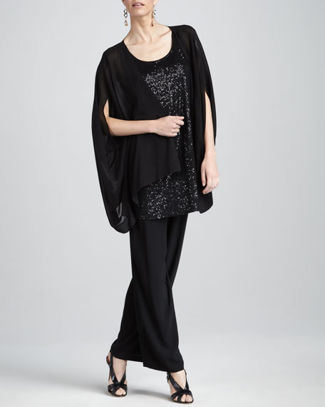 Sheer Georgette Jacket, Women's