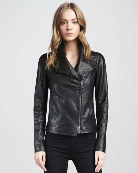 Leather Jacket, Black