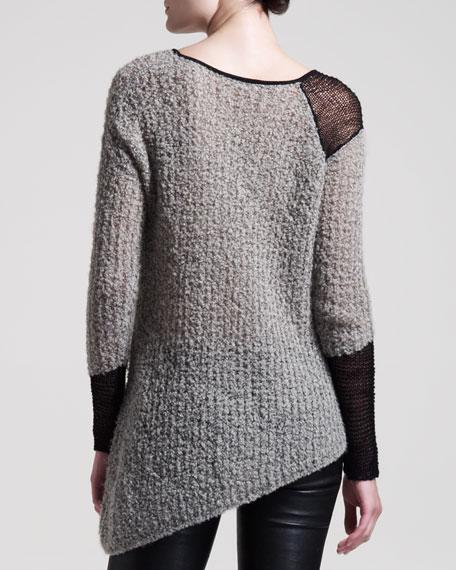 Flecked Boucle Sweater