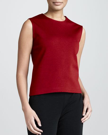 Wool Tank, Red