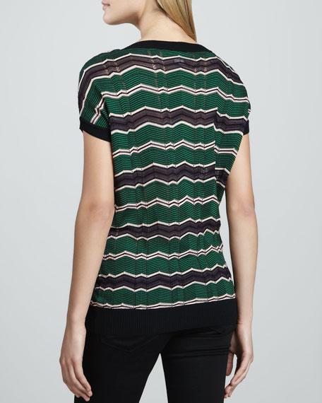 Micro Zigzag Sweater