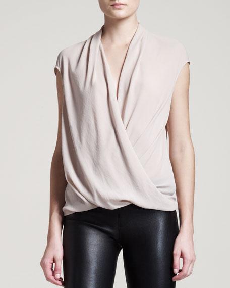 Soft Shroud Twist Top