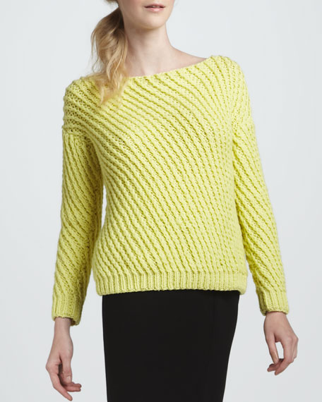 Cora Large-Weave Sweater