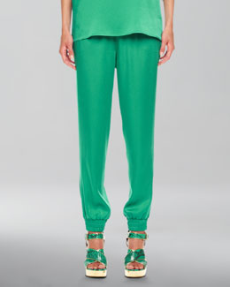 Michael Kors Charmeuse Pajama Pants