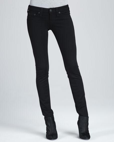 Stella Black Ponte Skinny Jeans
