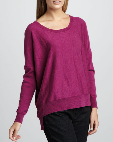 Merino High-Low Top