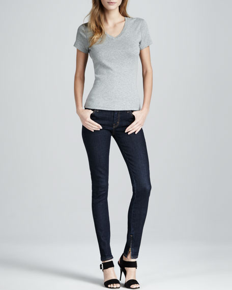 Skinny 1 Month Low-Rise Lived In Jeans