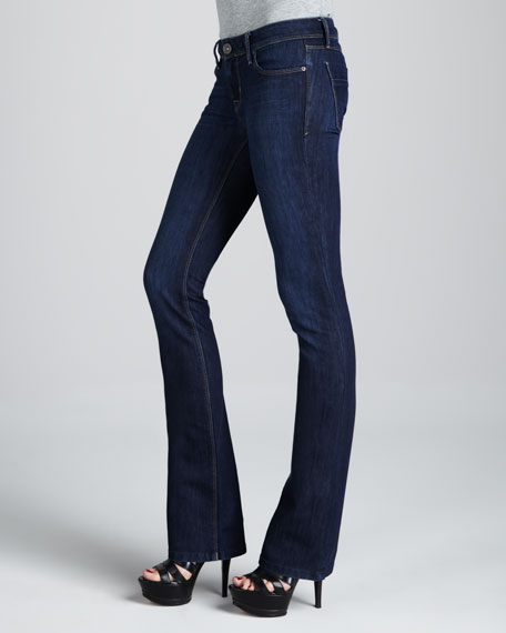 Cindy Sonic Slim Boot-Cut Jeans