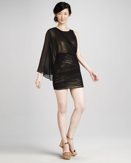 Sleeveless Black Cocktail Dress