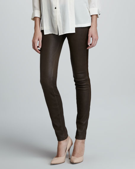 Mirah Leather Leggings