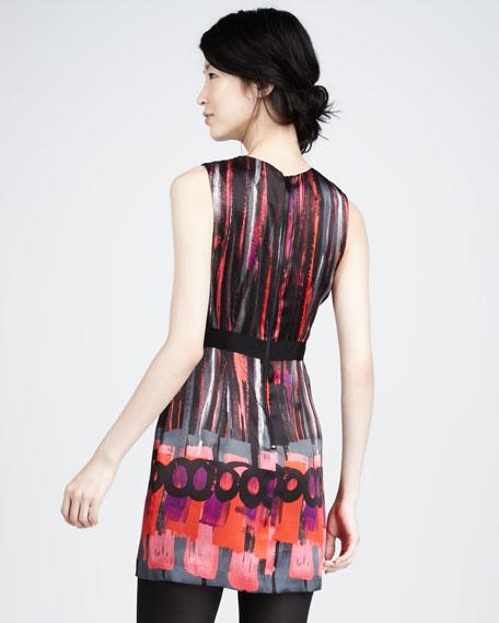 Colette Printed Silk Dress