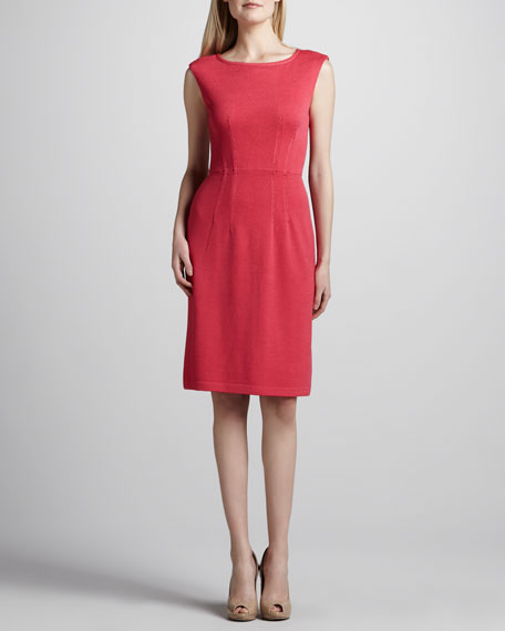 Santana Cap-Sleeve Dress