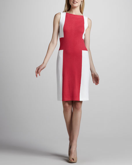 Colorblock Santana Dress