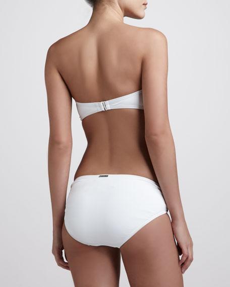 Cayman Hipster Bikini Bottom, White