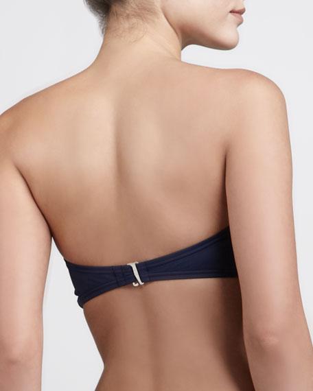 Cayman Bandeau Bikini Top, Indigo