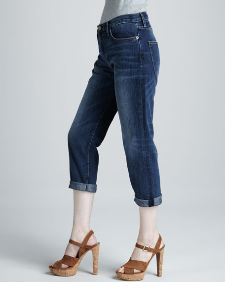 The Boyfriend Cropped Jeans