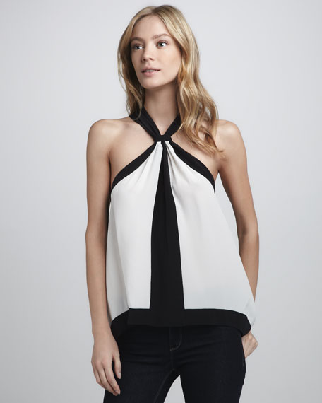 Helena Reversible Colorblock Top
