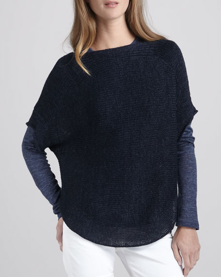 Loose Boat-Neck Sweater