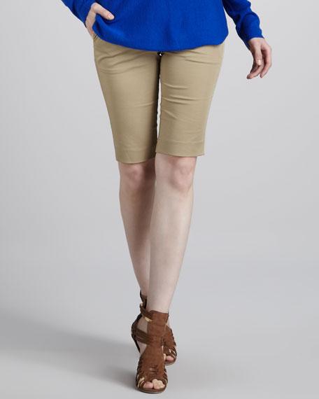Twill Bermuda Shorts, Khaki
