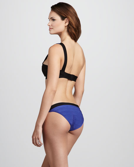 One-Shoulder Two-Piece Swimsuit