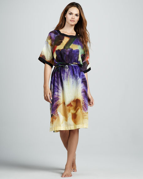 Printed Solid-Trim Coverup