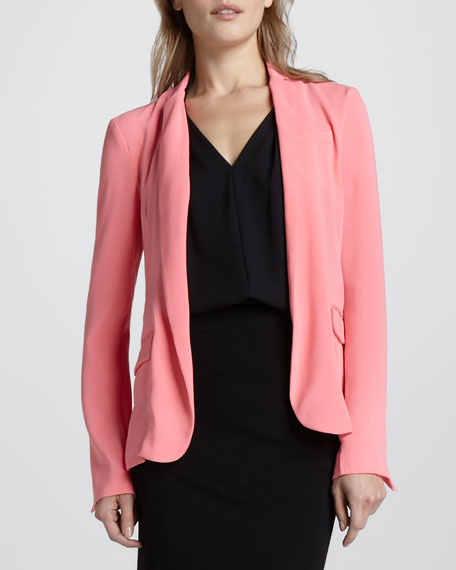 Victor Open Crepe Jacket