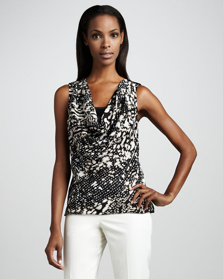 Jamie Animal-Print Top