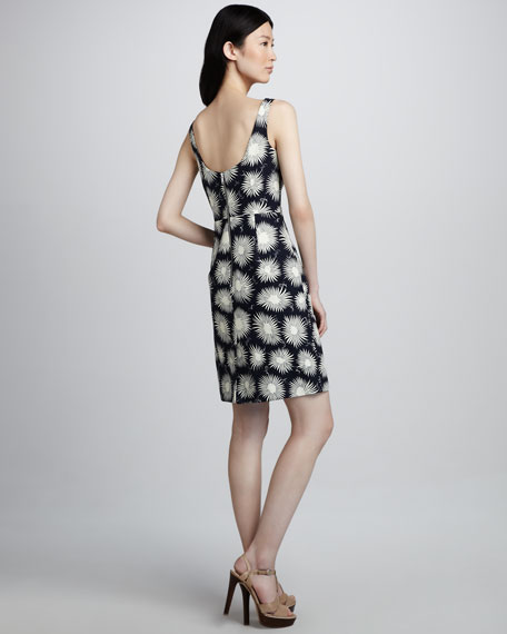 Sydie Printed Sleeveless Dress