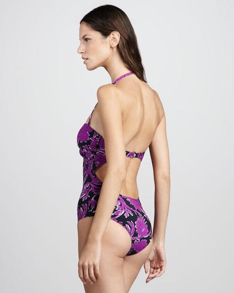 Majorca Halter Maillot Swimsuit