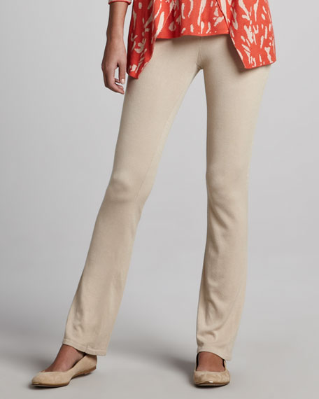 Knit Pants, Taupe