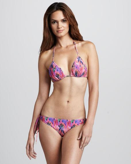Printed String Bikini