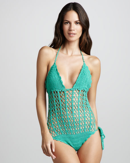 Isla Crochet One-Piece Swimsuit